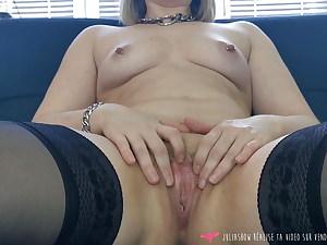Vends-ta-culotte - French Stunner Cunt Masturbation Close Up