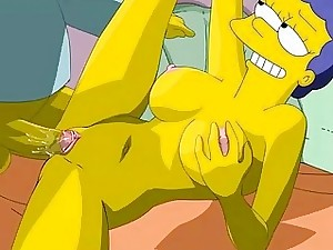 Simpsons Anime porn  Homer humps Marge